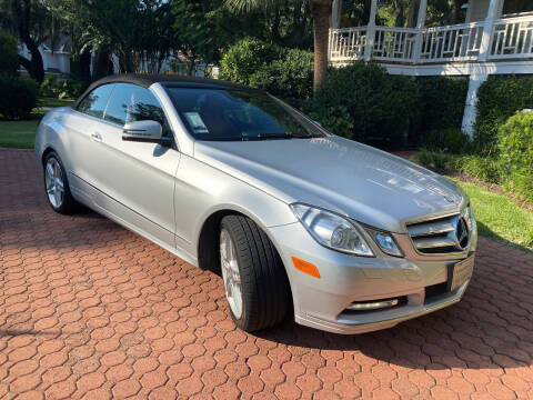 2013 Mercedes-Benz E-Class for sale at GOLD COAST IMPORT OUTLET in Saint Simons Island GA