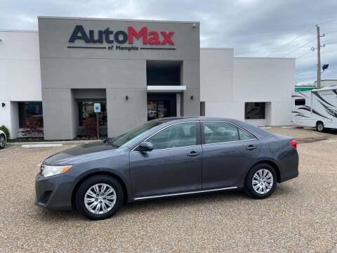 2012 Toyota Camry for sale at AutoMax of Memphis - V Brothers in Memphis TN