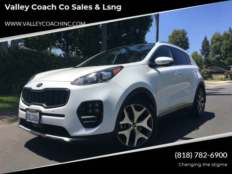 2017 Kia Sportage for sale at Valley Coach Co Sales & Lsng in Van Nuys CA