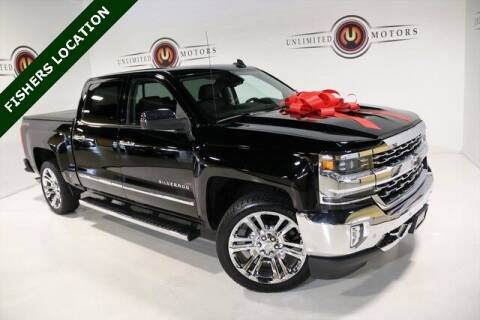 2016 Chevrolet Silverado 1500 for sale at Unlimited Motors in Fishers IN