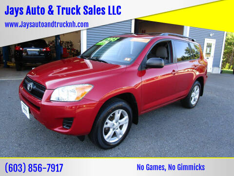 2012 Toyota RAV4 for sale at Jays Auto & Truck Sales LLC in Loudon NH