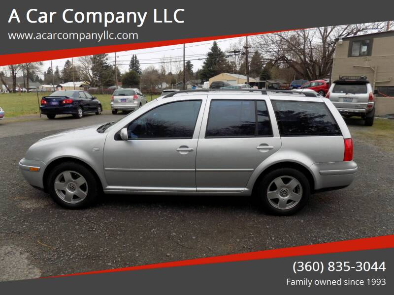 2001 Volkswagen Jetta for sale at A Car Company LLC in Washougal WA