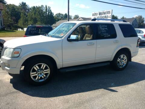 2010 Ford Explorer for sale at Auto Brokers of Milford in Milford NH