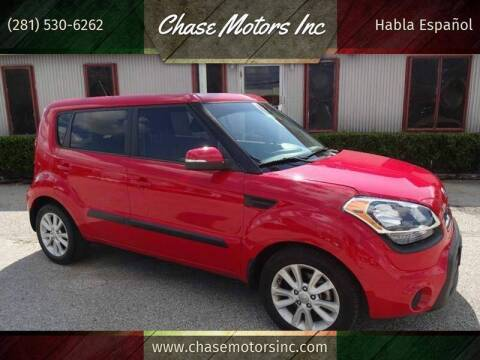 2013 Kia Soul for sale at Chase Motors Inc in Stafford TX