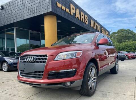 2008 Audi Q7 for sale at Pars Auto Sales Inc in Stone Mountain GA