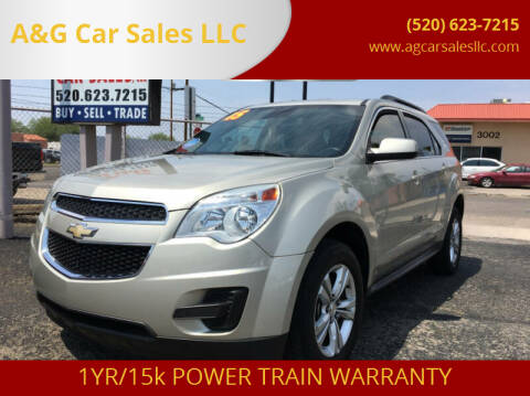 2015 Chevrolet Equinox for sale at A&G Car Sales  LLC in Tucson AZ