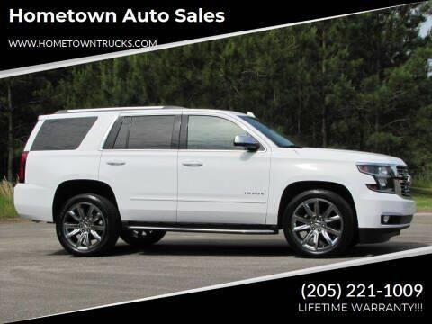 2017 Chevrolet Tahoe for sale at Hometown Auto Sales - SUVS in Jasper AL