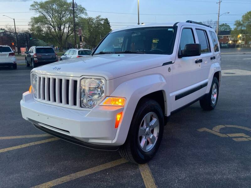 2011 Jeep Liberty for sale at RABIDEAU'S AUTO MART in Green Bay WI