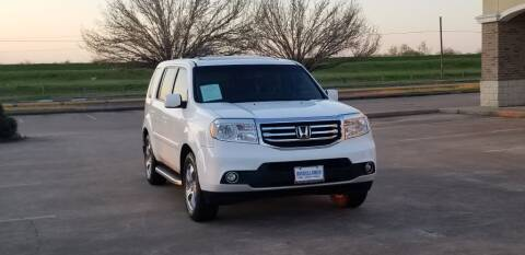 2013 Honda Pilot for sale at America's Auto Financial in Houston TX