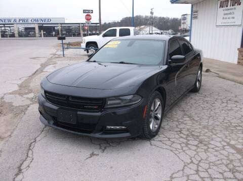 2015 Dodge Charger for sale at AUTO TOPIC in Gainesville TX
