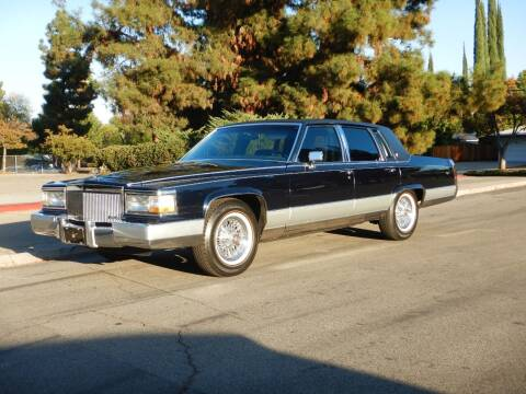 1992 Cadillac Brougham for sale at California Cadillac & Collectibles in Los Angeles CA