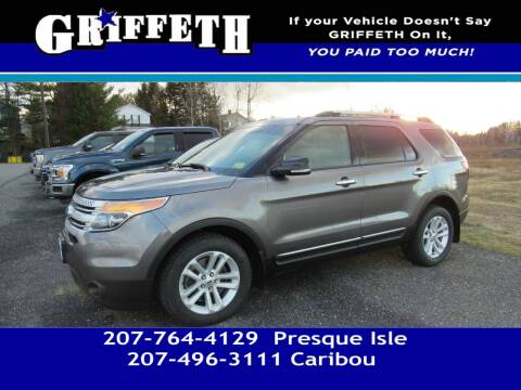 2014 Ford Explorer for sale at Griffeth Mitsubishi - Pre-owned in Caribou ME