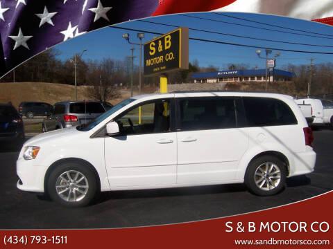 2014 Dodge Grand Caravan for sale at S & B MOTOR CO in Danville VA