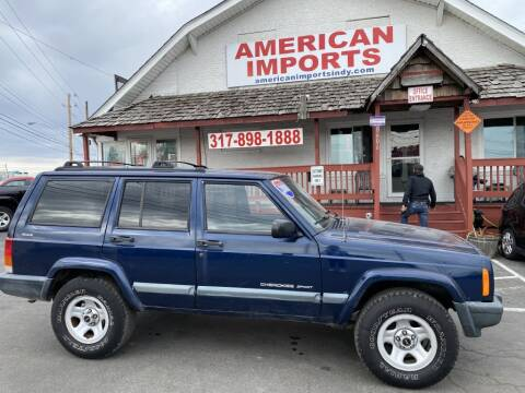 2000 Jeep Cherokee for sale at American Imports INC in Indianapolis IN