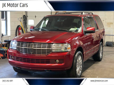 2013 Lincoln Navigator for sale at JK Motor Cars in Pittsburgh PA