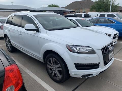 2014 Audi Q7 for sale at Excellence Auto Direct in Euless TX