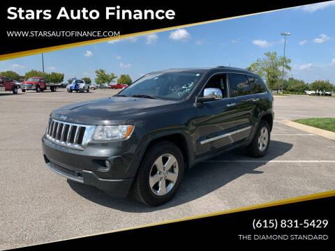 2011 Jeep Grand Cherokee for sale at Stars Auto Finance in Nashville TN