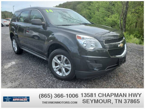 2014 Chevrolet Equinox for sale at Union Motors in Seymour TN