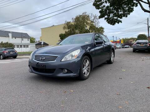 2011 Infiniti G25 Sedan for sale at Kapos Auto, Inc. in Ridgewood, Queens NY