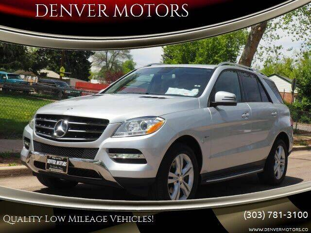 2012 Mercedes-Benz M-Class for sale in Englewood, CO