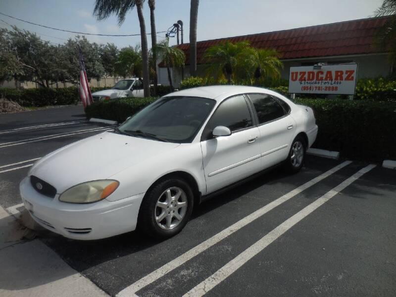 2006 Ford Taurus for sale at Uzdcarz Inc. in Pompano Beach FL