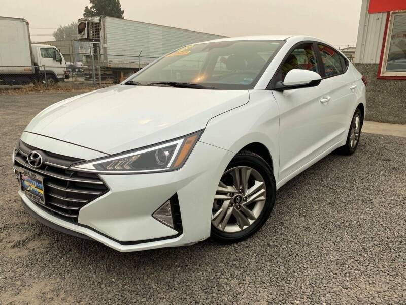 2019 Hyundai Elantra for sale at Yaktown Motors in Union Gap WA