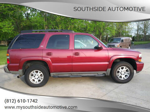 2005 Chevrolet Tahoe for sale at Southside Automotive in Washington IN