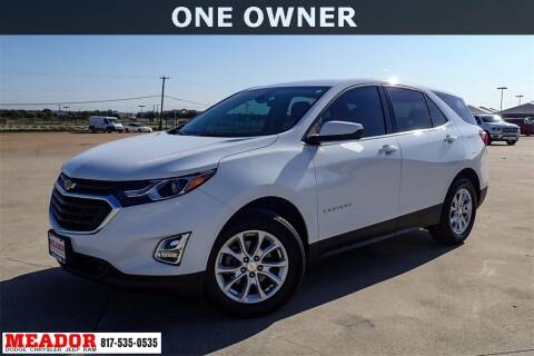 2020 Chevrolet Equinox for sale at Meador Dodge Chrysler Jeep RAM in Fort Worth TX