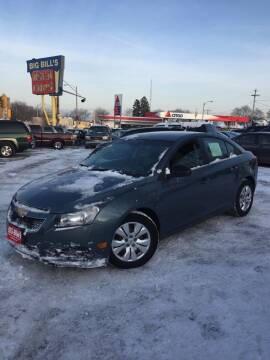 2012 Chevrolet Cruze for sale at Big Bills in Milwaukee WI