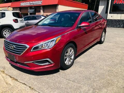 2016 Hyundai Sonata for sale at DUNCAN AUTO SALES, INC in Cartersville GA