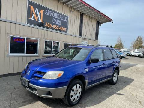 2006 Mitsubishi Outlander for sale at M & A Affordable Cars in Vancouver WA
