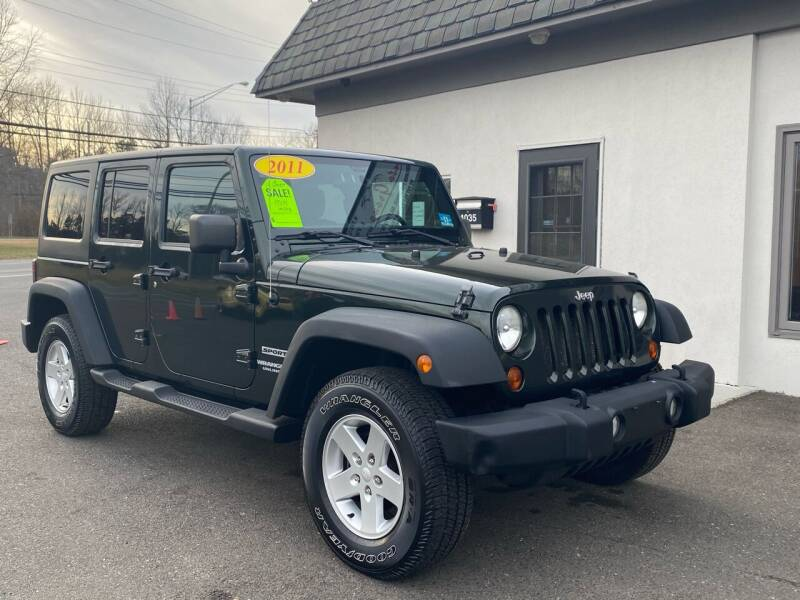 2011 Jeep Wrangler Unlimited for sale at Vantage Auto Group in Tinton Falls NJ
