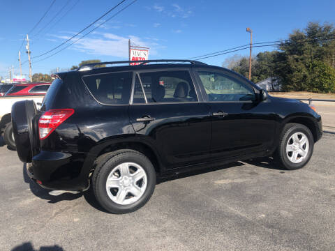 2010 Toyota RAV4 for sale at Mac's Auto Sales in Camden SC