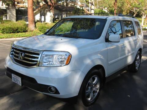 2012 Honda Pilot for sale at E MOTORCARS in Fullerton CA