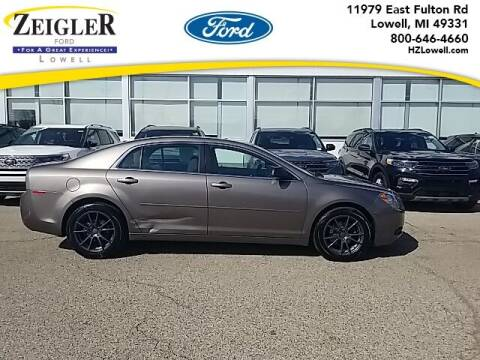 2012 Chevrolet Malibu for sale at Zeigler Ford of Plainwell- Jeff Bishop in Plainwell MI