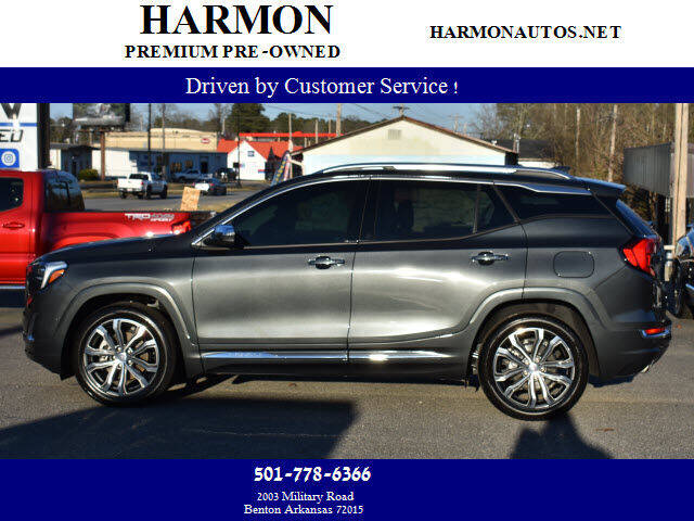2019 GMC Terrain for sale at Harmon Premium Pre-Owned in Benton AR