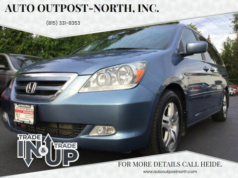 2007 Honda Odyssey for sale at Auto Outpost-North, Inc. in McHenry IL