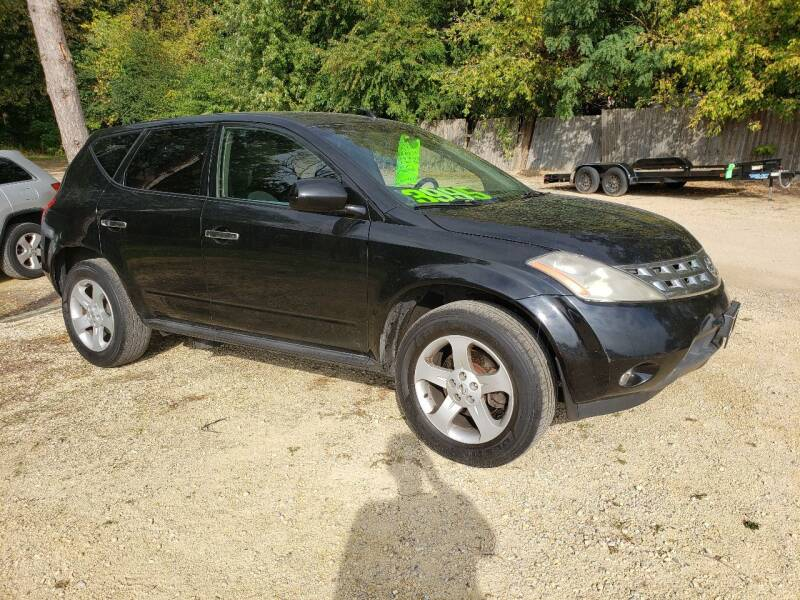 2005 Nissan Murano for sale at Northwoods Auto & Truck Sales in Machesney Park IL
