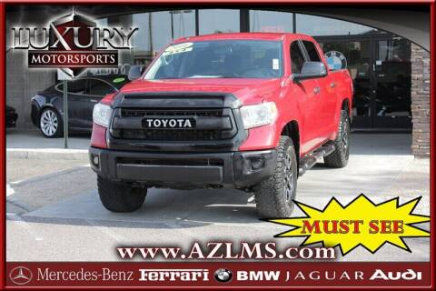 2016 Toyota Tundra for sale at Luxury Motorsports in Phoenix AZ