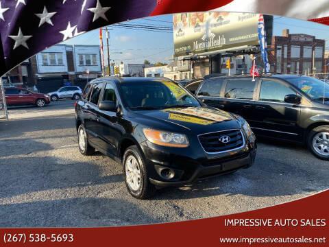 2011 Hyundai Santa Fe for sale at Impressive Auto Sales in Philadelphia PA