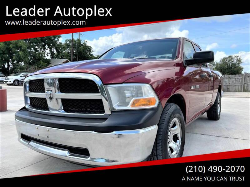 2012 RAM Ram Pickup 1500 for sale at Leader Autoplex in San Antonio TX