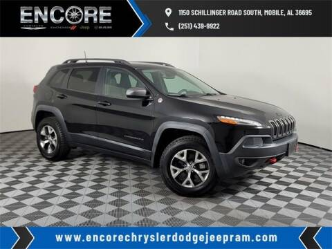 2017 Jeep Cherokee for sale at PHIL SMITH AUTOMOTIVE GROUP - Encore Chrysler Dodge Jeep Ram in Mobile AL