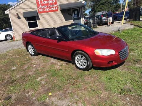2004 Chrysler Sebring for sale at DAVINA AUTO SALES in Orlando FL