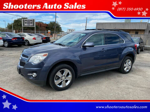 2013 Chevrolet Equinox for sale at Shooters Auto Sales in Fort Worth TX