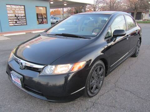 2006 Honda Civic for sale at Trimax Auto Group in Norfolk VA