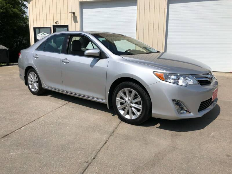 2012 Toyota Camry for sale at Dussault Auto Sales in Saint Albans VT