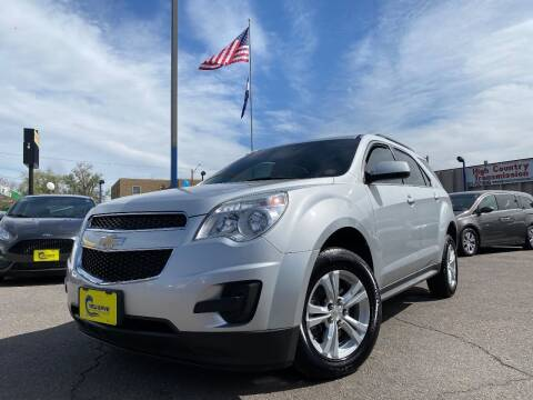 2015 Chevrolet Equinox for sale at New Wave Auto Brokers & Sales in Denver CO