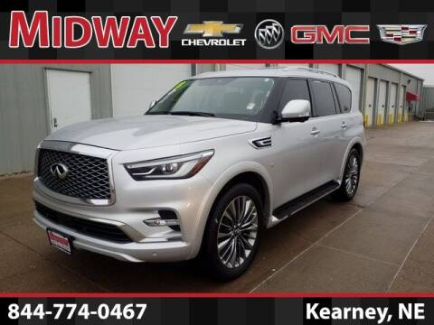 2018 Infiniti QX80 for sale at Heath Phillips in Kearney NE