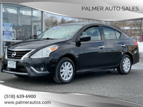 2015 Nissan Versa for sale at Palmer Auto Sales in Menands NY