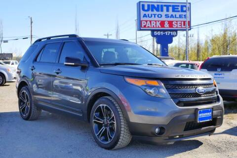 2015 Ford Explorer for sale at United Auto Sales in Anchorage AK